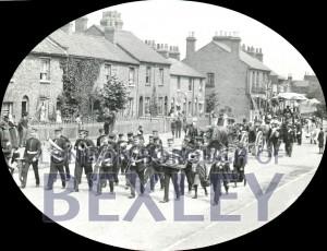 PHBOS_2_803 Bexleyheath Gala parade in Broadway, Bexleyheath 1899