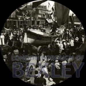 PHBOS_2_811 Bexleyheath Gala parade in Market Place, Bexleyheath 1899