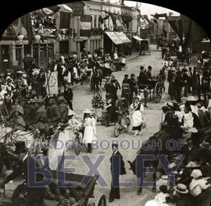 PHBOS_2_813 Bexleyheath Gala parade in Market Place, Bexleyheath 1899