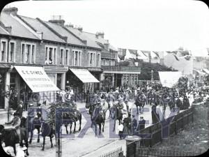 PHBOS_2_818 Gala procession in Broadway, Bexleyheath 1899