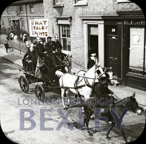 PHBOS_2_826 Bexley Gala, High Street, Bexley 1900