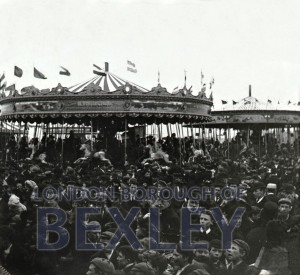 PHBOS_2_876 The Fairground at Crayford, c.1905