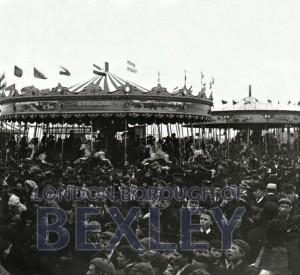 PHBOS_2_876 The Fairground at Crayford, c.1905