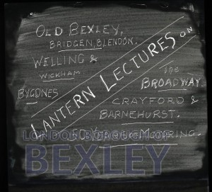 PHBOS_2_901 Title slide for a Boswells Lantern Lecturec1900