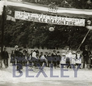 PHBOS_2_926 Jubilee beacon Oaklands Road Bexleyheath 1897