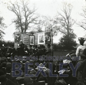 PHBOS_2_932 Education Bill protest sale c1880