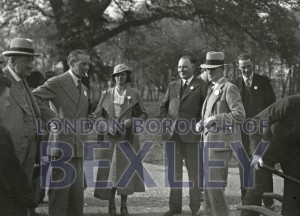 PHBOS_2_944 Councillors at Danson Park for Jubilee 1935