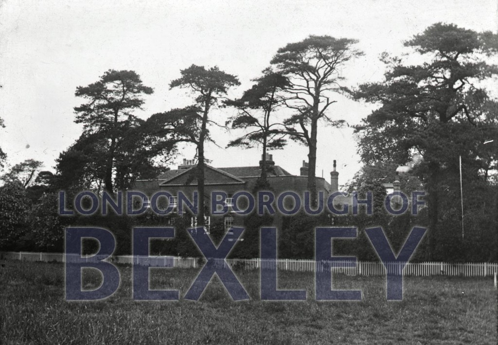 Sidcup Manor House c1920