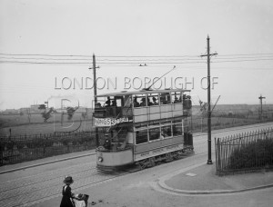 PHRBR_004  Erith Council Tram in Lower Road, Erith