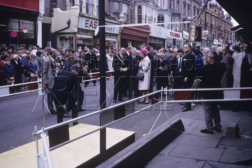 Erith Town Centre Official Demolition Ceremony, 1966