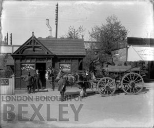 DEW003 G. J. Cockerell & Co Coal Merchants, Station Approach, Sidcup 1914