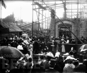 DEW004 Laying Foundation Stone at Christ Church, Sidcup 1900