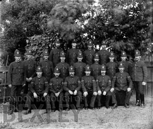 DEW006 Sidcup Policemen c.1897-1902