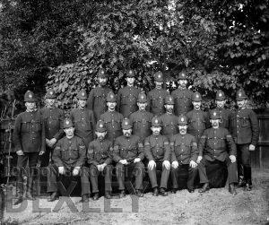 DEW007 Sidcup Policemen c.1900