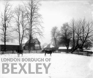 DEW008 Snow Scene at Foots Cray Meadows c.1900