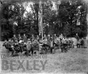 DEW015 Woolwich Police Band c.1900