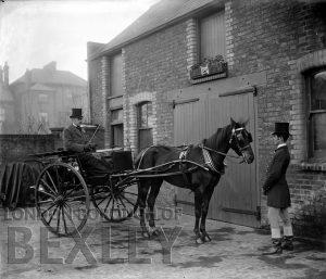DEW020 Granville Mews, Station Road, Sidcup c.1900
