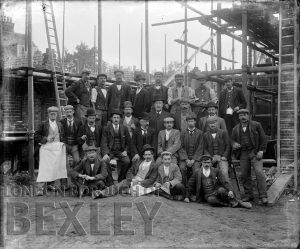 DEW021 House Builders, Sidcup c.1900