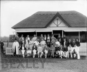 DEW025 Sidcup Cricket Club 1895