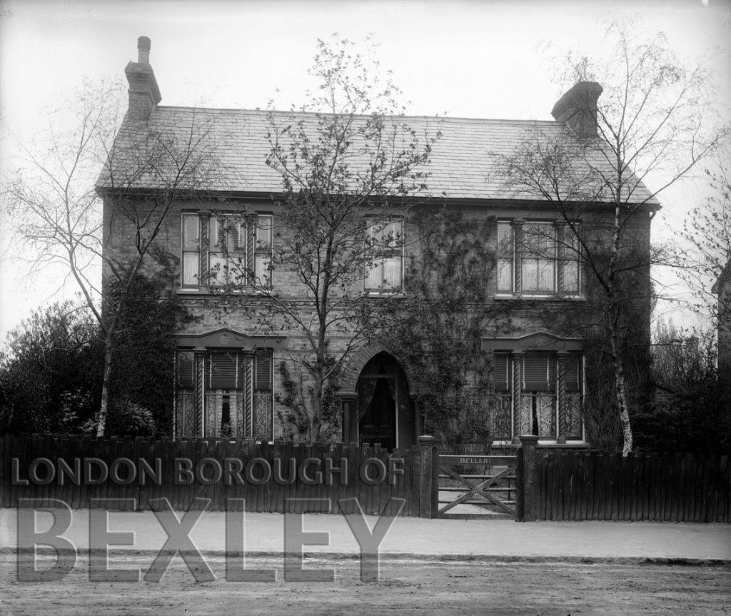 'Bellari' 35 Hatherley Road, Sidcup c.1900