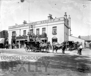DEW046 The Black Horse, Sidcup 1897