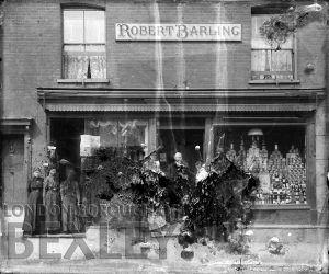 DEW054 Robert Barling Furnishers Chinaware, High Street, Sidcup c.1900