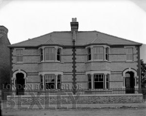 DEW064 Pair Semi-Detached Houses c.1910