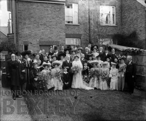 DEW075 Wedding Portrait c.1900