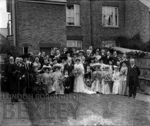 DEW079 Wedding Portrait c.1900