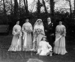 DEW081 Wedding Portrait c.1900