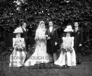 DEW087 Wedding Portrait c.1900