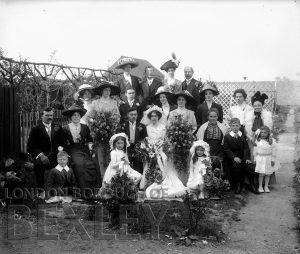DEW107 Wedding Portrait c.1900