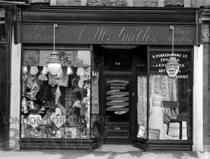 DEW155 Two Shop Fronts, 69 High Street, Sidcup 1907