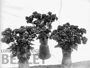 DEW166 Flower Display at Sidcup & District Horticultural Show 1898
