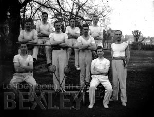 DEW173 Men's Gymnastic Group c.1900