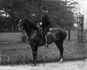 DEW174 Mounted Police, Sidcup c.1900