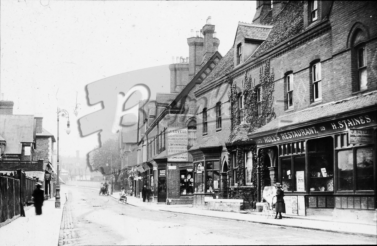 Phls 0758 High Street Beckenham 1800s Bromley Borough