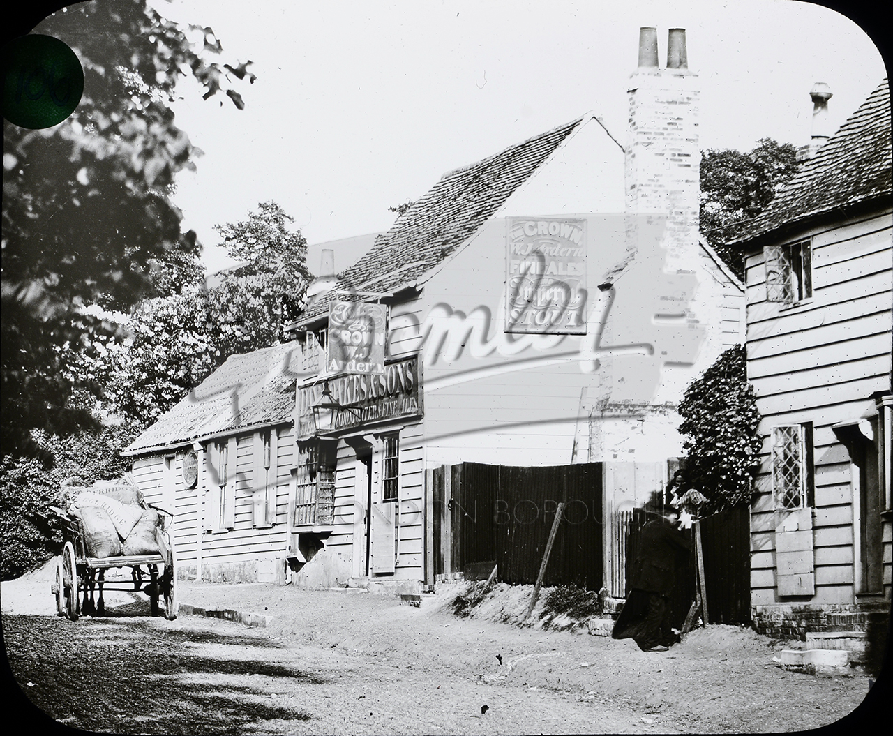 Phls 1106 the old crown inn bromley bromley borough photos for The bromley