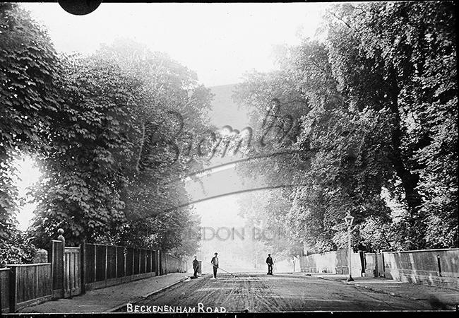 PHLS_0634 Beckenham Road Penge, Penge 1900s