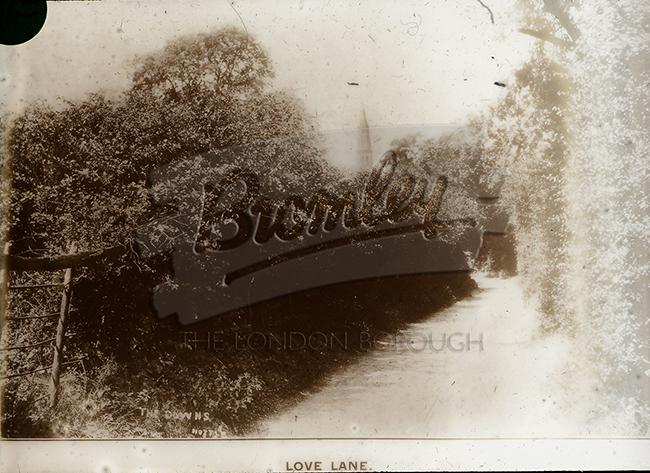 PHLS_0952 Love Lane, Beckenham, 1890