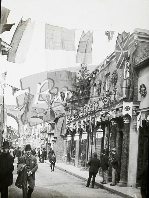 PHLS_1404 May Day Celebrations, St Mary Cray, St Mary Cray c.1890s