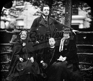 """Hayes"" family group,  Late 19th early 20th Century."