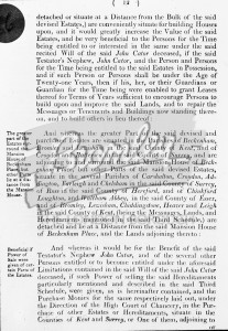 Cator Private Act p. 12, Beckenham