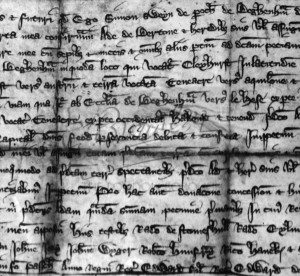 Deed of 1317,  1317