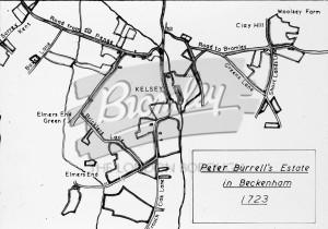 Peter Burrell Estate 1723, Beckenham 1723