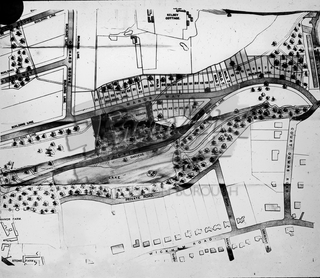 Plan of proposed development Kelsey Park Estate, Kelsey Park