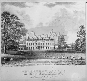 Chipstead Place 1838, The Seat of Frederick Perkins, Chipstead 1838
