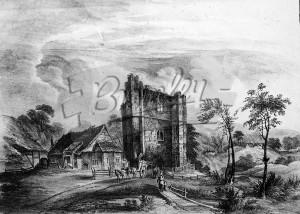 Otford Palace 1824, Otford 1824
