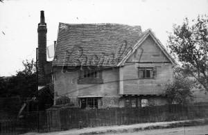 Eynsford – toll house from Eynsford church hill, Eynsford undated