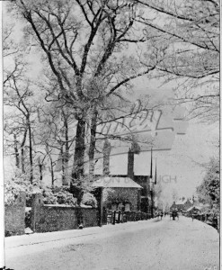 Snowy Lane,  undated